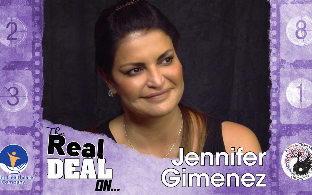 EP 01 The Real Deal On… Reinvention. Special Guest: Jennifer Gimenez